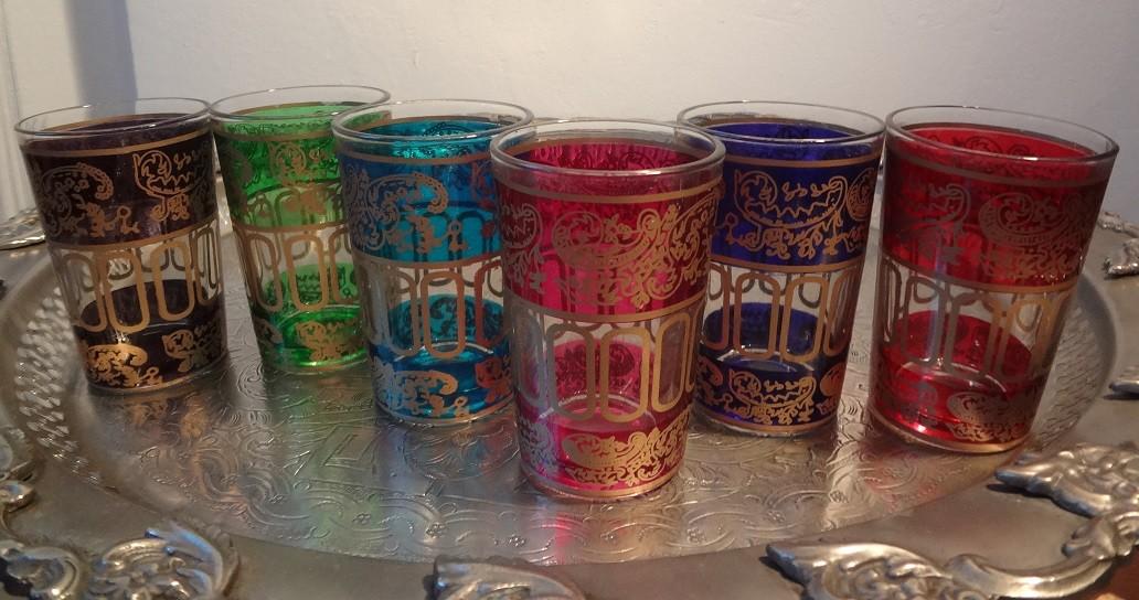 Orientalische Tee-Gläser XL, Mengenrabatt