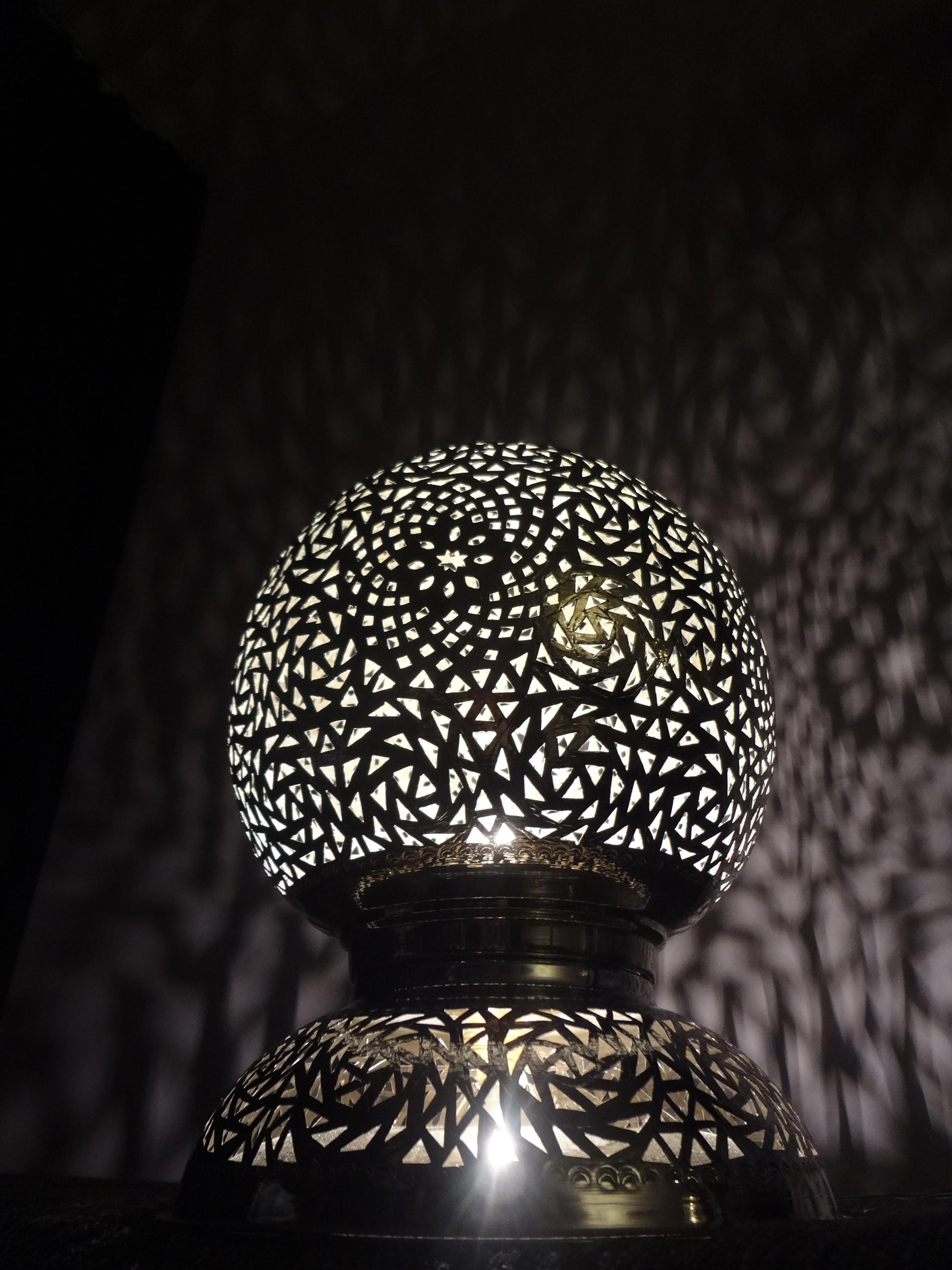 Stehlampe De Luxe, 34 cm