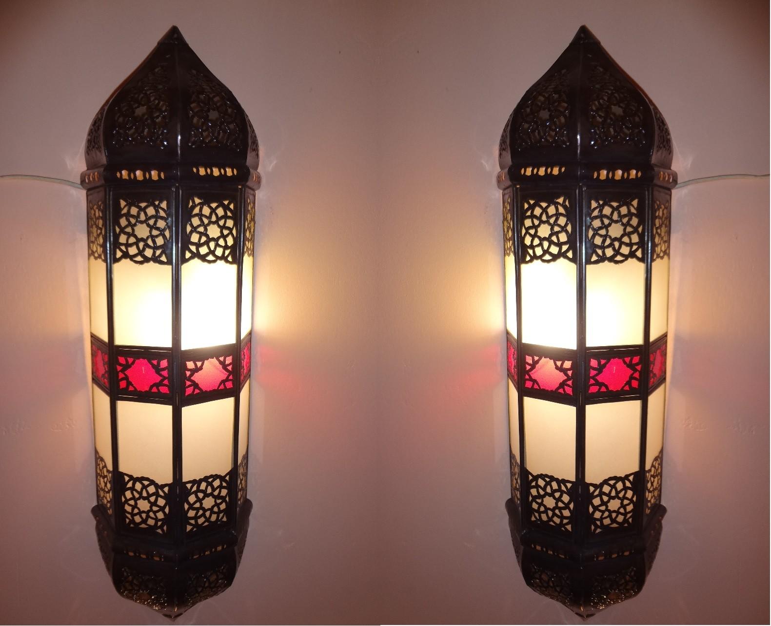 Zwei Wandlampen im Set