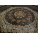 Tisch mit Mosaik, Sechseckig